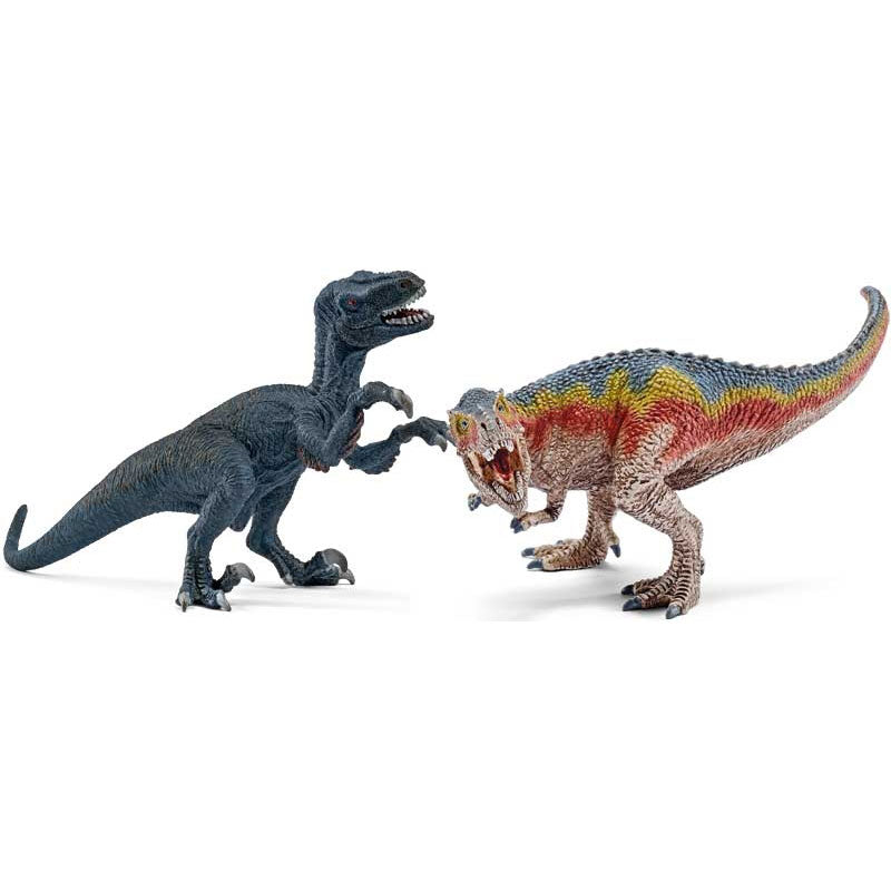 T-Rex and Velociraptor - The Original Toy Shop
