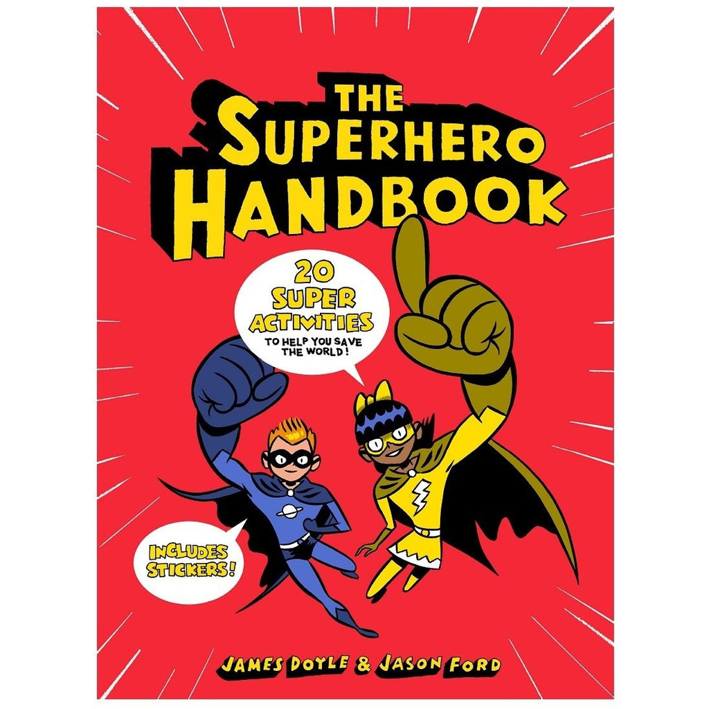 Superhero Handbook - The Original Toy Shop