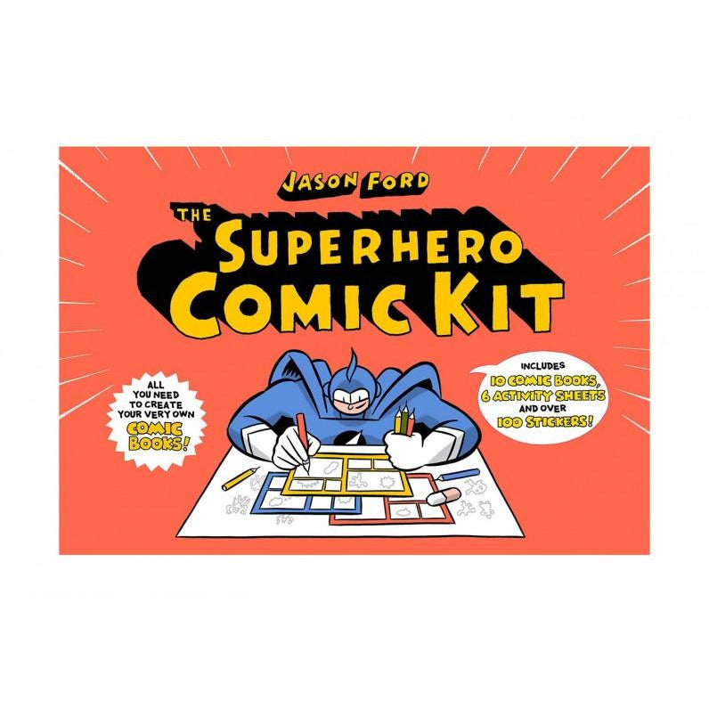 Superhero Comic Kit - The Original Toy Shop