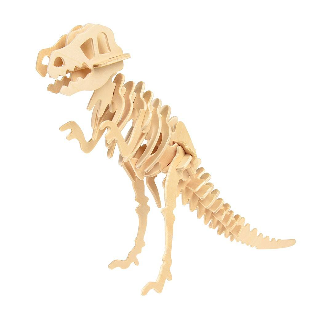Tyrannosaurus 3d Wooden Puzzle - The Original Toy Shop