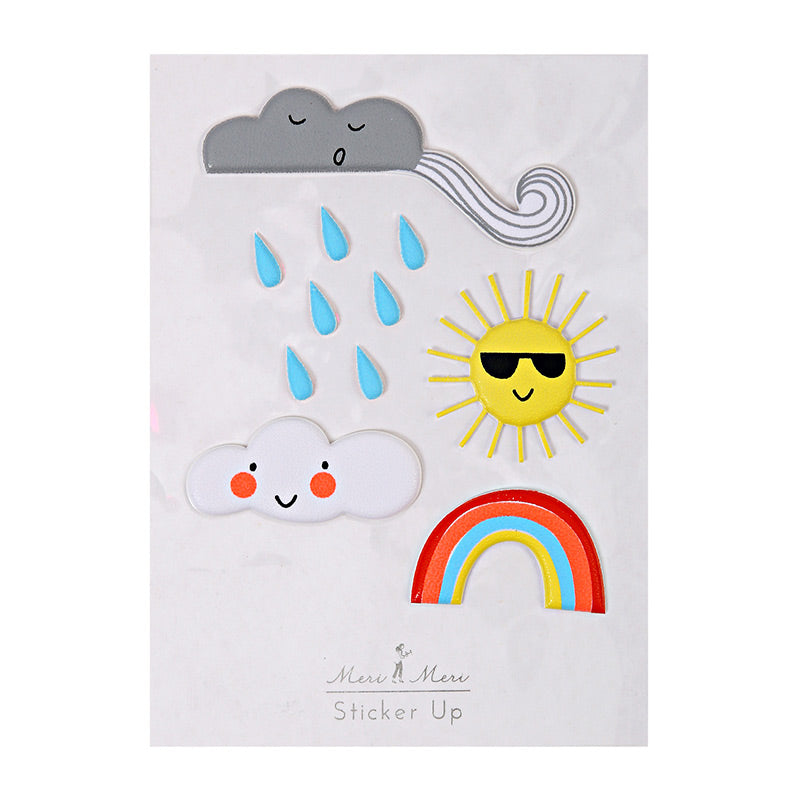 Weather Stickers - The Original Toy Shop