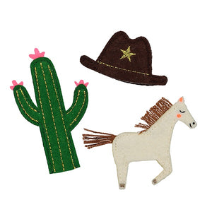 Wild West Finger Puppets - The Original Toy Shop