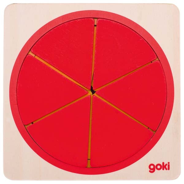 Wooden Puzzle Circle - The Original Toy Shop