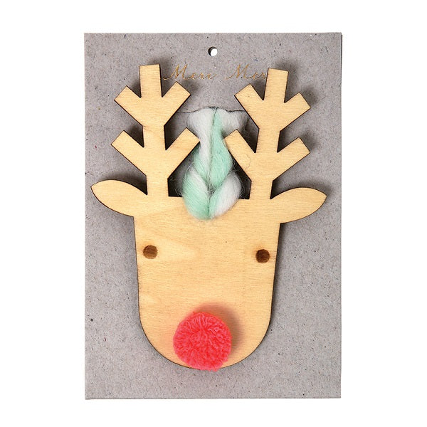 Wooden Reindeer Decoration - The Original Toy Shop