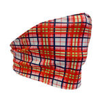 Hampton Plaid One Size Fits Most Tie Mask