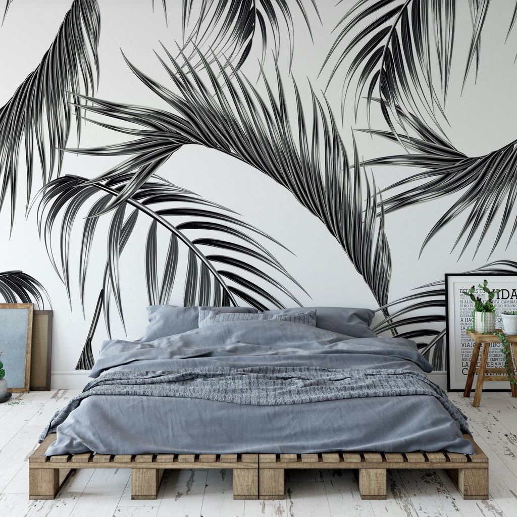 Burma Wallpaper Mural in a bedroom setting | WallpaperMural.com