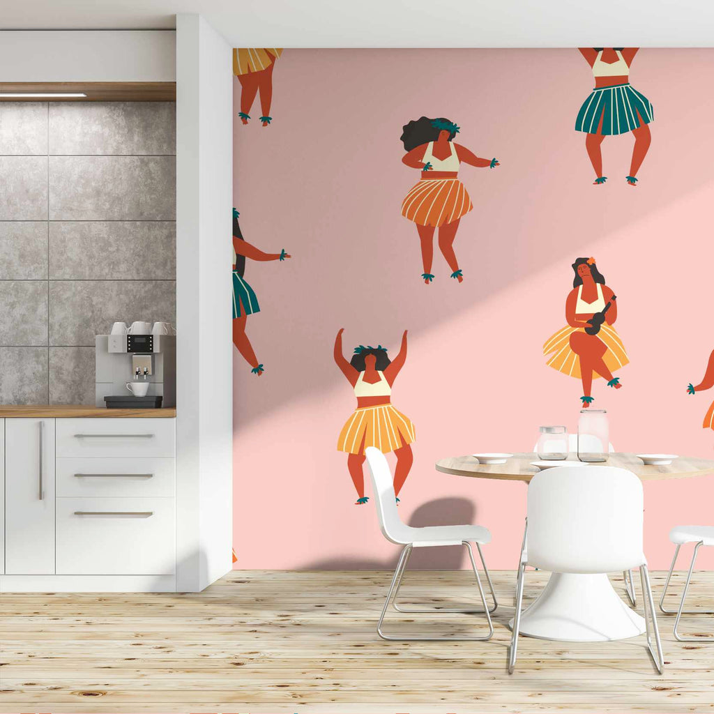 Glib wallpaper mural in a kitchen | WallpaperMural.com