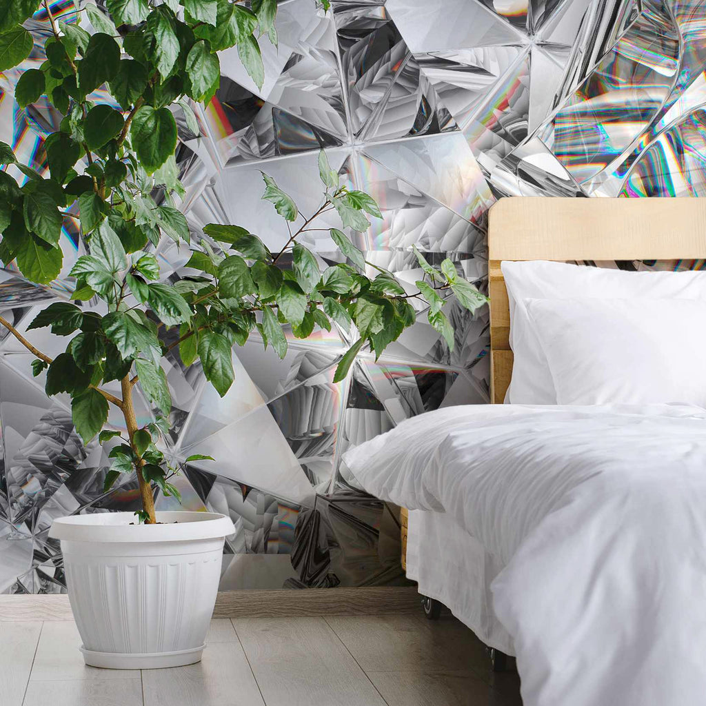Kelpton wallpaper mural in a bedroom | WallpaperMural.com