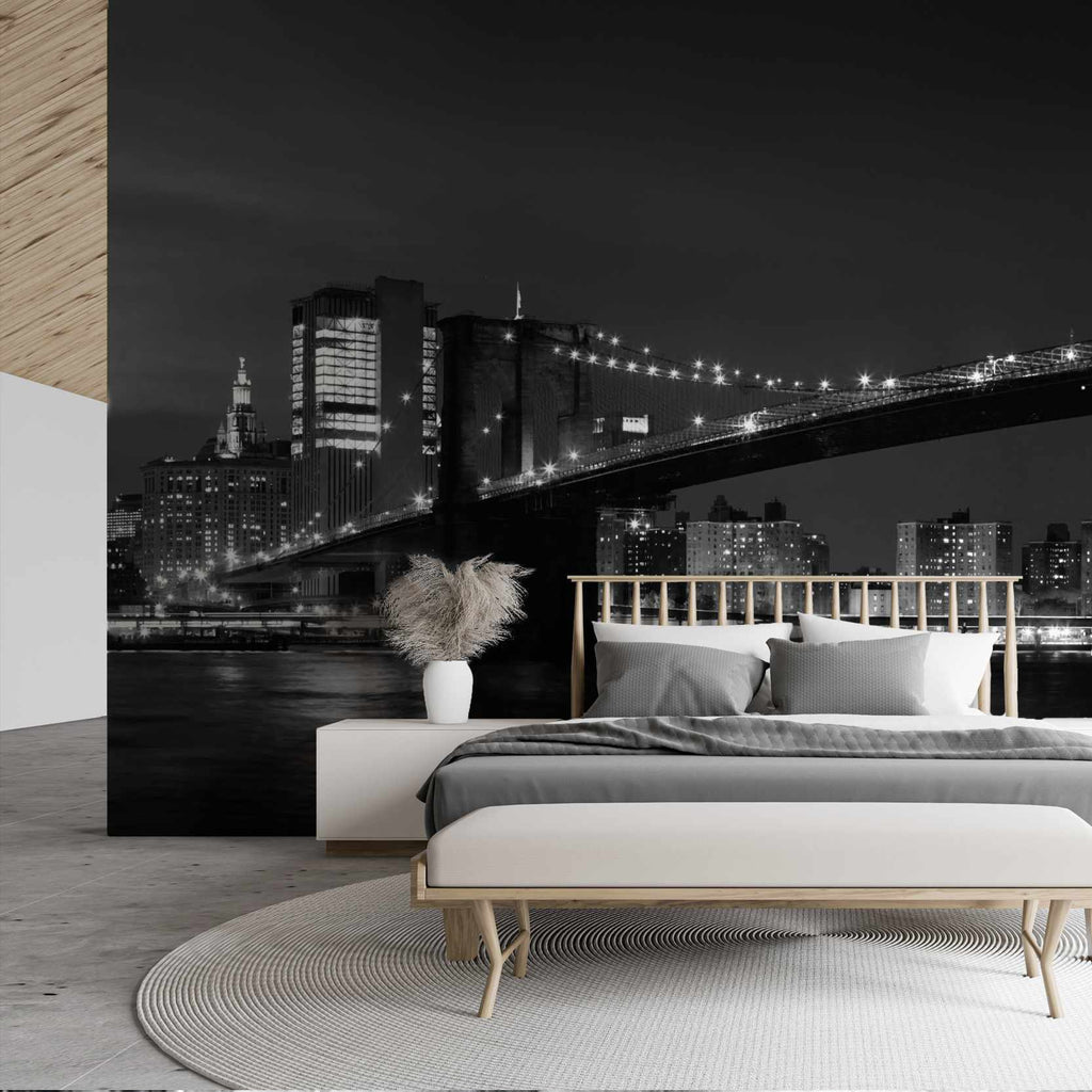 Anthane wallpaper mural in a bedroom | WallpaperMural.com