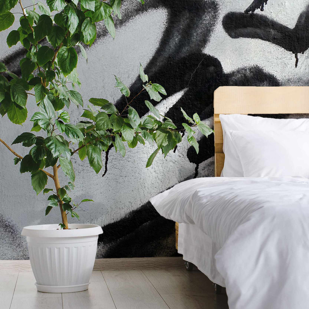 Brightyor wallpaper mural with a Green plant | WallpaperMural.com