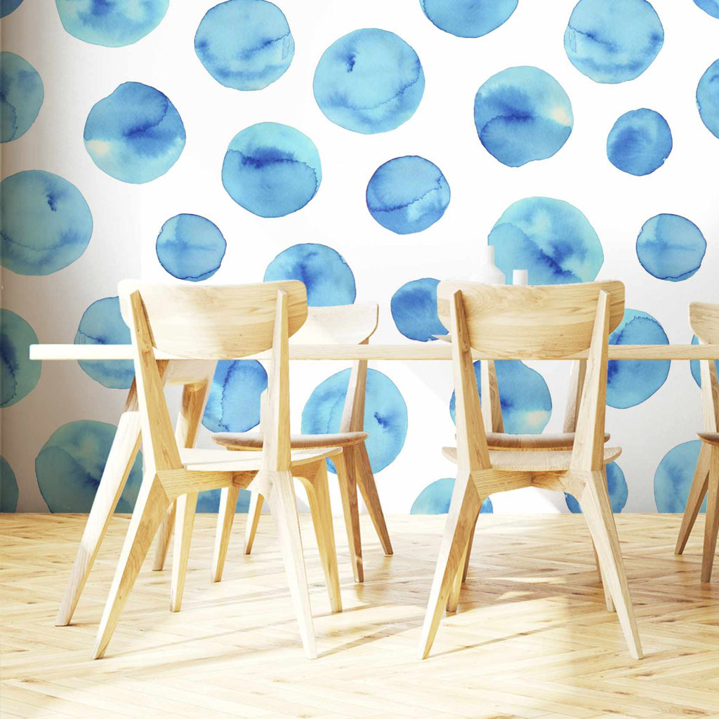 Cetionic wallpaper mural in a dining room | WallpaperMural.com