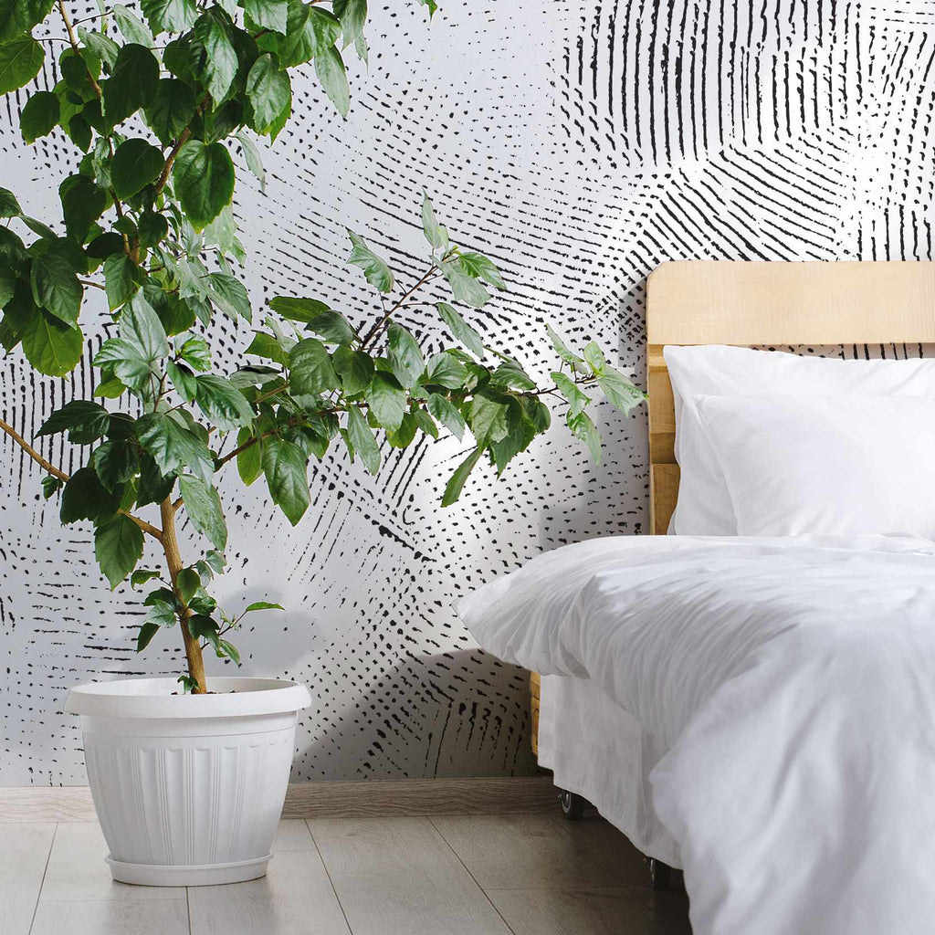 Correver wallpaper mural in a bedroom | WallpaperMural.com