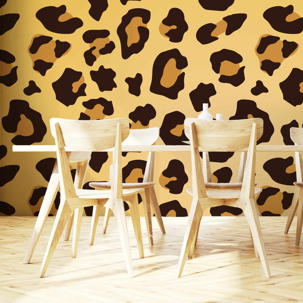 Excumble wallpaper mural in a dining room | WallpaperMural.com
