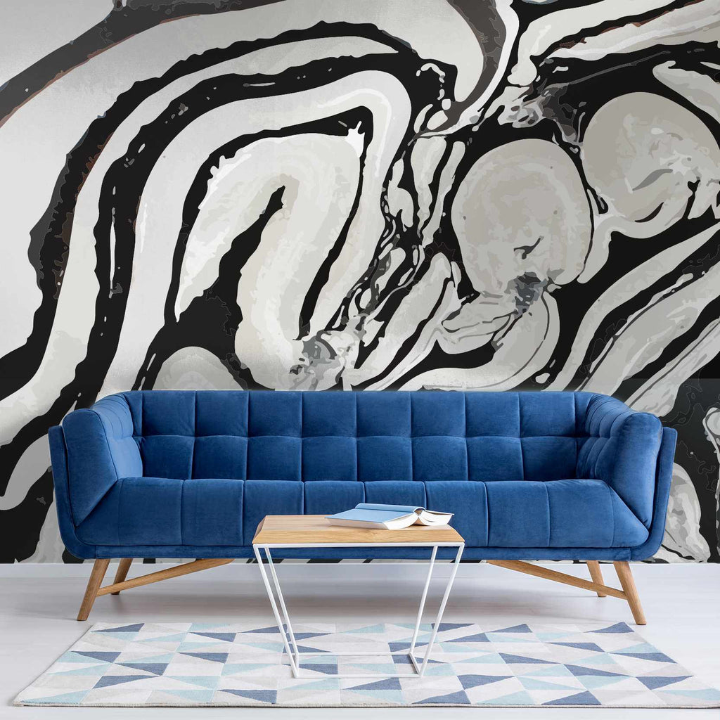 Fastors wallpaper mural in a lounge | WallpaperMural.com