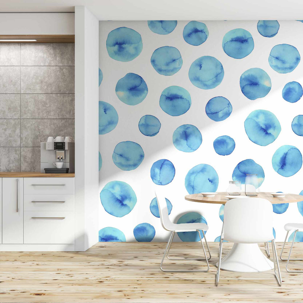 Hyporty wallpaper mural in a kitchen | WallpaperMural.com