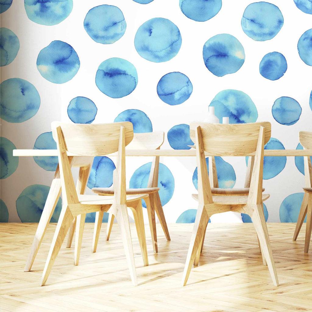 Hyporty wallpaper mural in a dining room | WallpaperMural.com