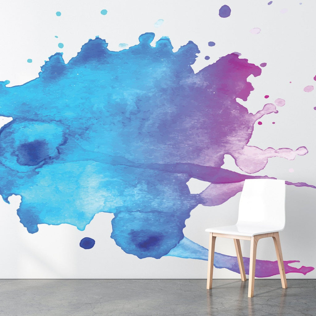 Kodi wallpaper mural with a White chair | WallpaperMural.com