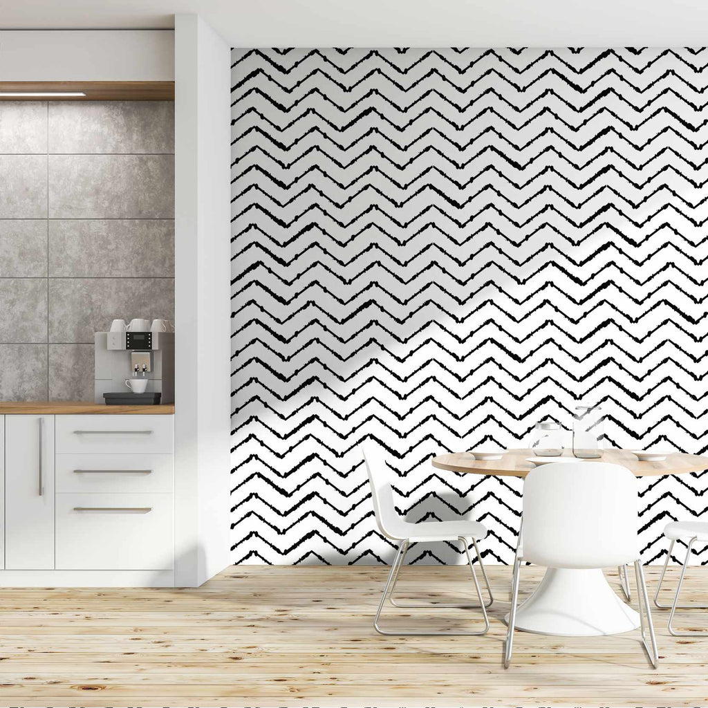Yokovich wallpaper mural in a kitchen | WallpaperMural.com