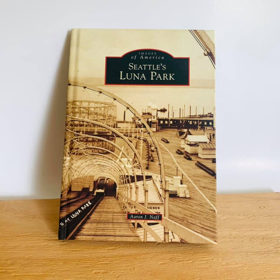 Local Find, Seattle's Luna Park Book