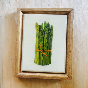 Vintage Find, Asparagus Wall Art