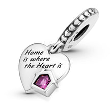 Load image into Gallery viewer, Love My Home Heart Dangle Charm