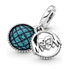 Load image into Gallery viewer, Glitter Globe Mum Dangle Charm