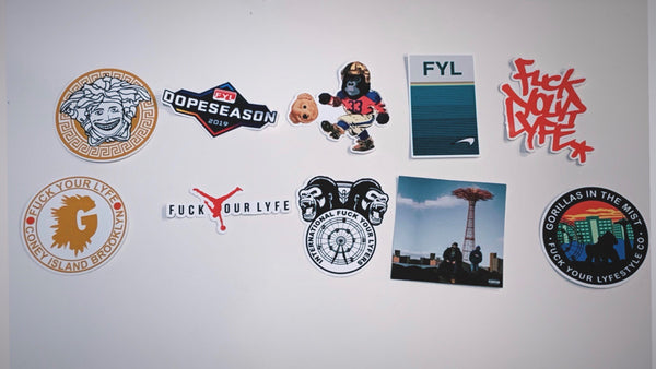 STICKER PACK (6 STICKERS)