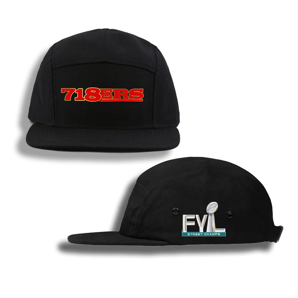 718ERS FIVE PANEL HAT