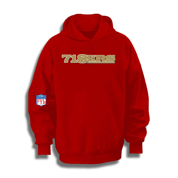 718ERS HOODY (BLACK OR RED)