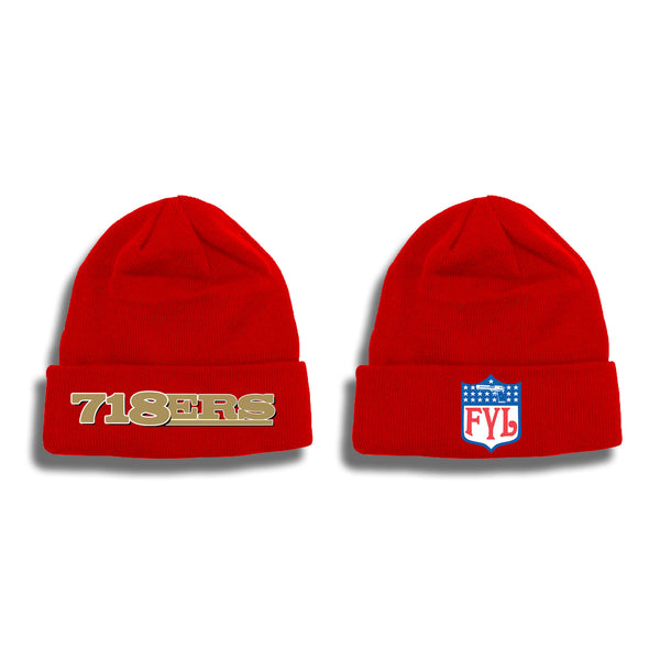 718ERS SKULLY (BLACK OR RED)