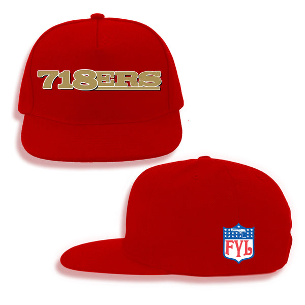718ERS SNAPBACK (BLACK OR RED)