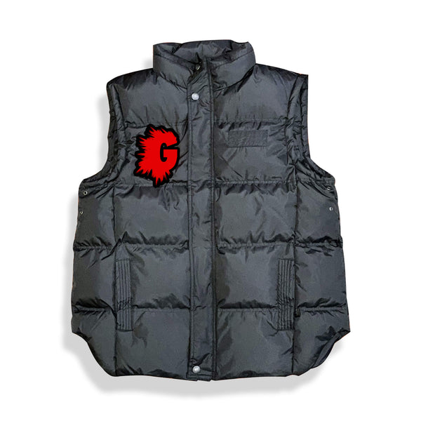 G LOGO VEST (RED G LOGO CHENILLE PATCH)