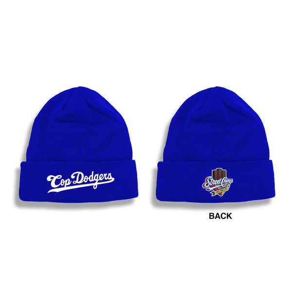 COP DODGERS SKULLY (BLACK OR BLUE)