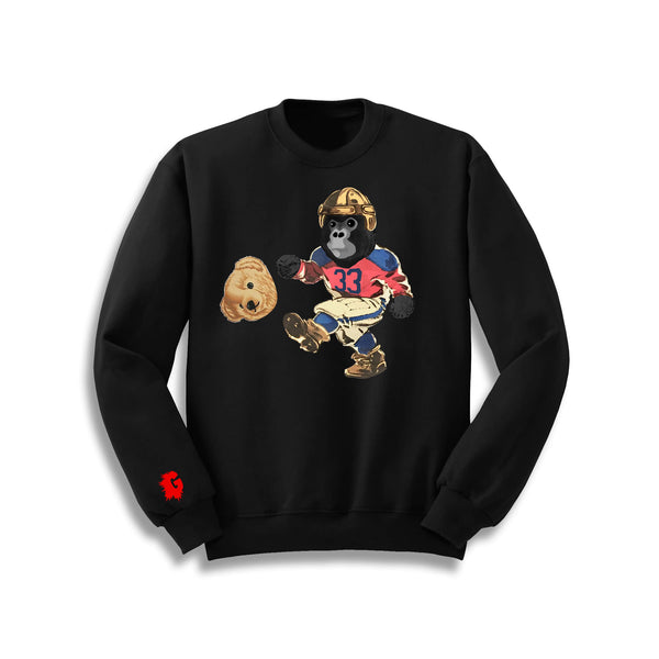 FOOTBALL GORILLA CREWNECK