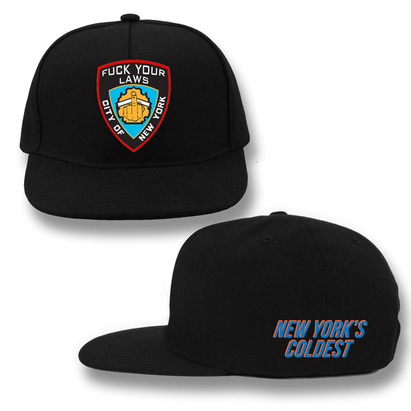 FUCK YOUR LAWS SNAPBACK