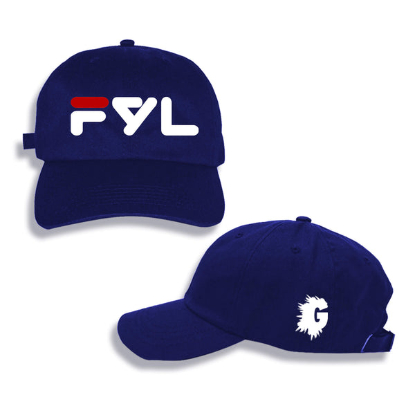FYL CLASSIC NAVY BLUE DAD HAT
