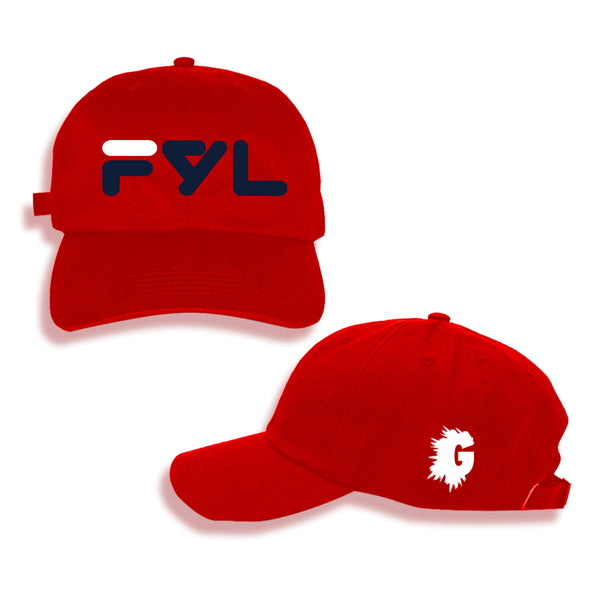 FYL CLASSIC RED DAD HAT
