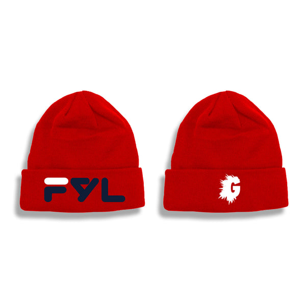 FYL CLASSIC RED SKULLY