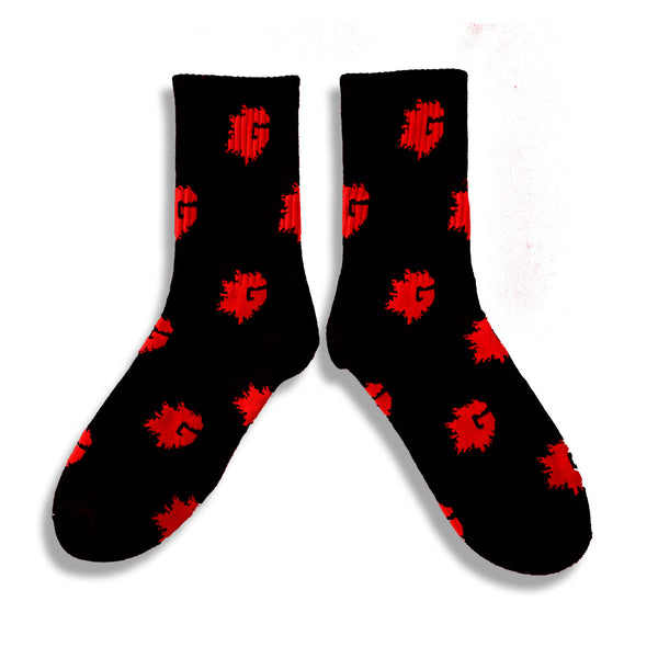 G LOGO SOCKS (MULTIPLE COLORWAYS)