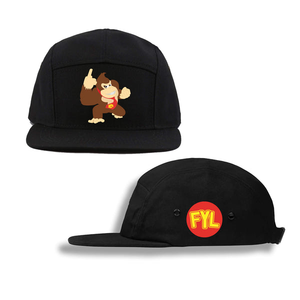 GORILLA KONG FIVE PANEL HAT