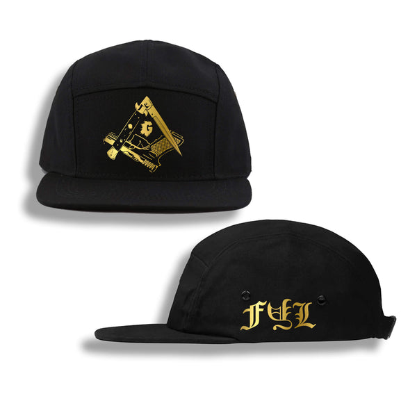 iLLUMINATED FIVE PANEL HAT