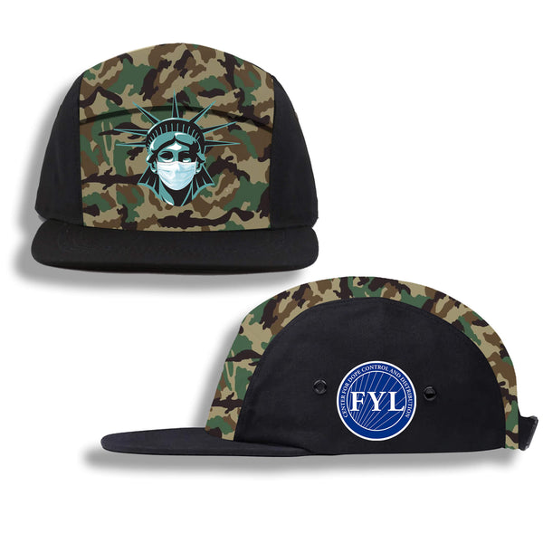 FUCK YOUR LIBERTY FIVE PANEL HAT