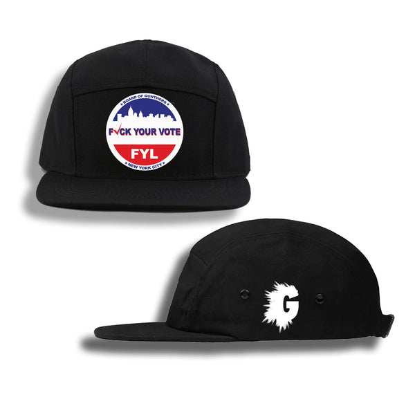 VOTER FRAUD FIVE PANEL HAT