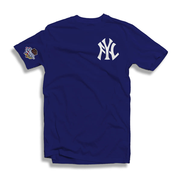 FYL YANKS T-SHIRT (BLACK OR BLUE)