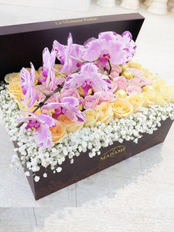 Sweetest Orchid Blossom Box