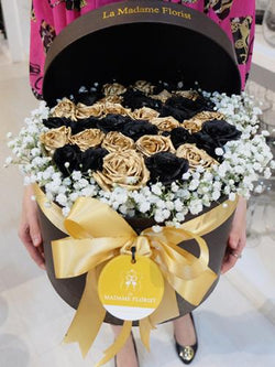 Luxury of Golden Rose