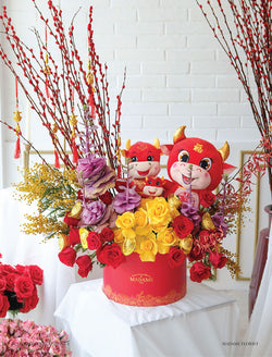 The Year of Ox CNY Blossom Box