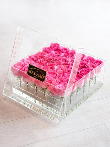 Acrylic Blossom Box in Pink