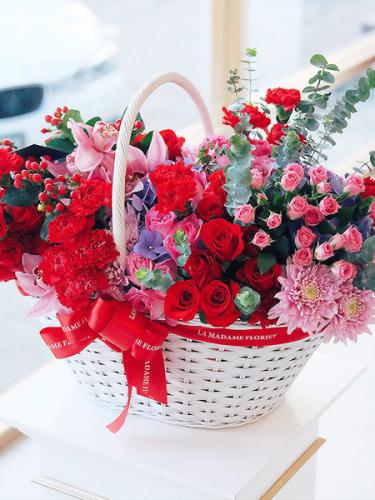 Magical Love Floral Basket
