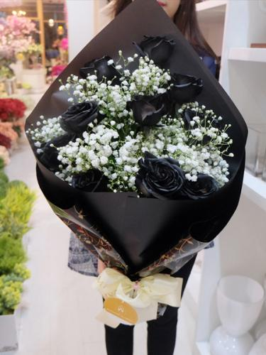 The Magical of Black Roses